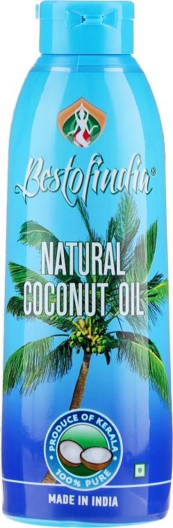 Olio di cocco del Kerala naturale per capelli e corpo - Bestofindia Natural Coconut Oil