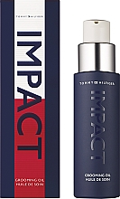 Profumi e cosmetici Tommy Hilfiger Impact - Olio per barba e viso