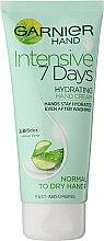 "Profumi e cosmetici Crema mani ""7 giorni"" - Garnier 7 Days Hydration Moisturizing Hand Cream"