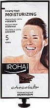 Profumi e cosmetici Maschera viso - Iroha Nature Moisturizing Chocolate Creamy Mask