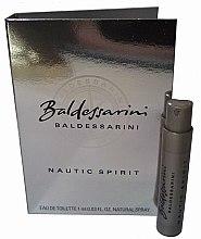 Profumi e cosmetici Baldessarini Nautic Spirit - Eau de toilette (Campioncino)