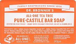 "Profumi e cosmetici Sapone ""Tea Tree"" - Dr. Bronner's Pure Castile Bar Soap Tea Tree"