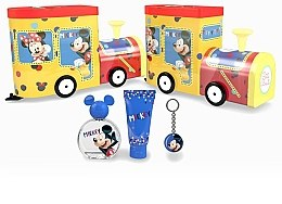 Profumi e cosmetici Petite Beaute Mickey Mouse - Set (edt/50ml + sh/gel/75ml + keychain)