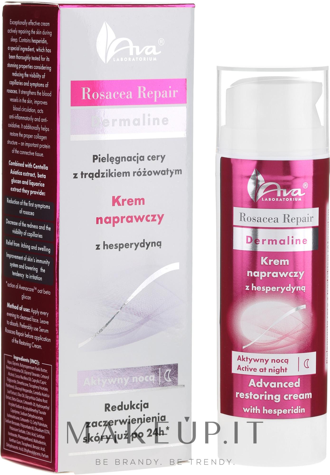 Crema viso all'esperidina da notte - Ava Laboratorium Rosacea Repair Cream — foto 50 ml
