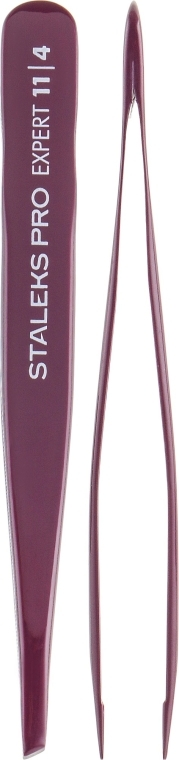 Pinzette per sopracciglia, TE-11/4 - Staleks Pro