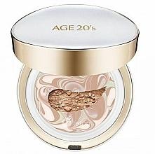 Profumi e cosmetici Crema-cipria per viso con blocco sostituibile - AGE 20's Signature Pact Long Stay SPF50+/PA+++