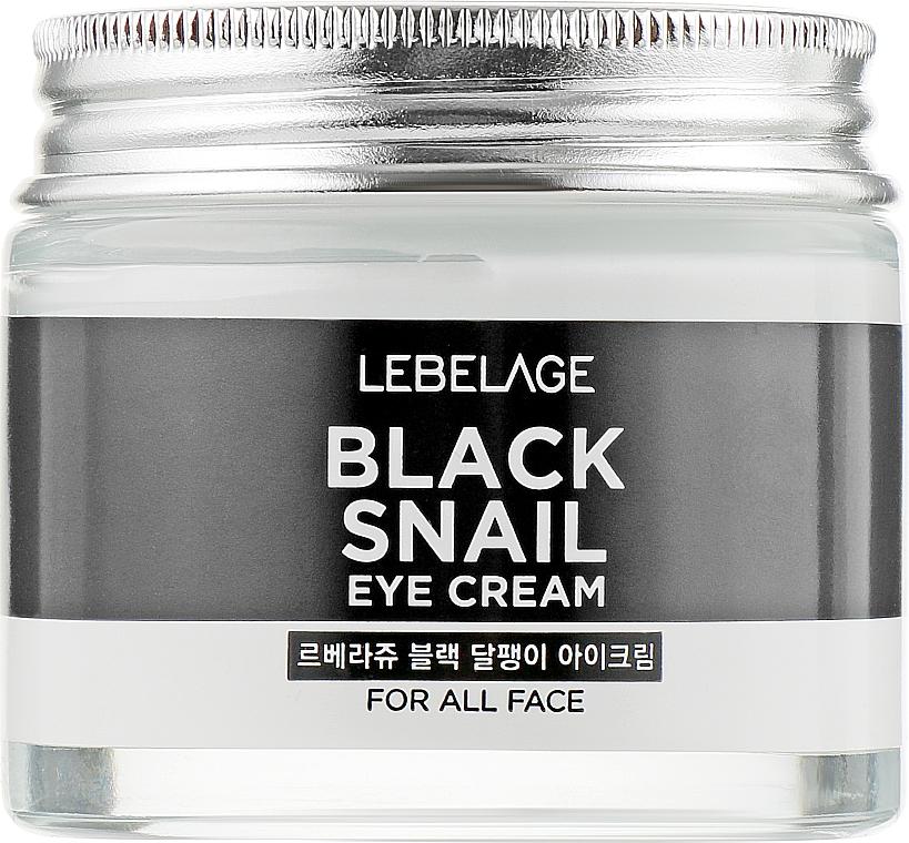 Crema contorno occhi rivitalizzante alla bava di lumaca - Lebelage Black Snail Eye Cream