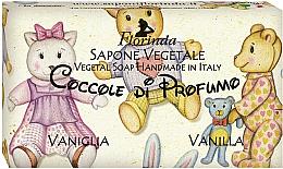"""Profumi e cosmetici Sapone naturale """"Vaniglia"""" - Florinda Sapone Vegetale Vegetal Soap Vanilla"""
