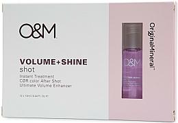 Profumi e cosmetici Trattamento capelli per lucentezza e volume - Original & Mineral Volume + Shine Instant Shot Treatment