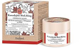Profumi e cosmetici Bio-crema rassodante lifting 50+, da giorno - Farmona Canadian BioLifting Red Maple
