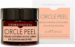Profumi e cosmetici Crema contorno occhi e labbra - Surgic Touch Circle Peel Eye Contour And Lip Peel