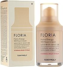Profumi e cosmetici Crema idratante all'olio di argan - Tony Moly Floria Nutra Energy 100 Hours Cream