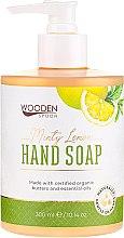 """Profumi e cosmetici Sapone liquido """"Menta e limone"""" - Wooden Spoon Minty Lemon Hand Soap"""