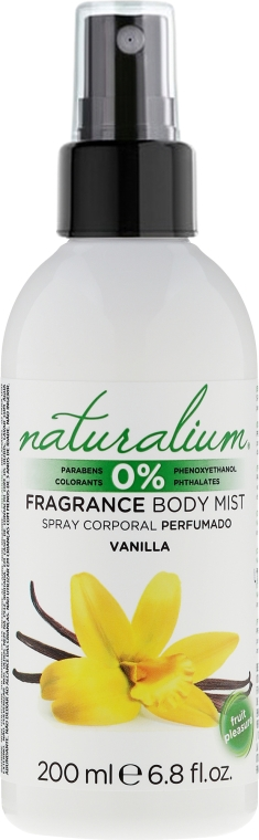 Spray per il corpo - Naturalium Vainilla Body Mist