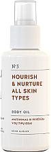 Profumi e cosmetici Olio corpo nutriente per tutti i tipi di pelle - You & Oil Nourish & Nurture Body Oil