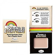 Profumi e cosmetici Primer ombretti - TheBalm Priming Is Everything