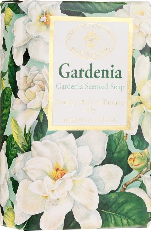 """Sapone naturale """"Gardenia"""" - Saponificio Artigianale Fiorentino Masaccio Gardenia Soap"""
