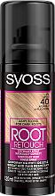 Profumi e cosmetici Spray colorante per nascondere le radici dei capelli cresciuti e grigi - Syoss Root Retoucher Spray