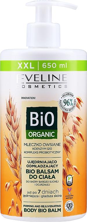 Balsamo corpo - Eveline Cosmetics Bio Organic Firming And Rejuvenating Body Bio Balm Oat Milk