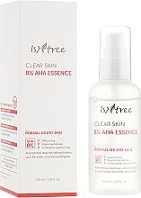 Profumi e cosmetici Essenza viso con acido lattico e glicolico - IsNtree Clear Skin 8% Aha Essence