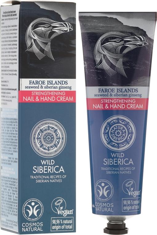 Crema rassodante per mani e unghie - Natura Siberica Faroe Islands Strengthening Nail & Hand Cream