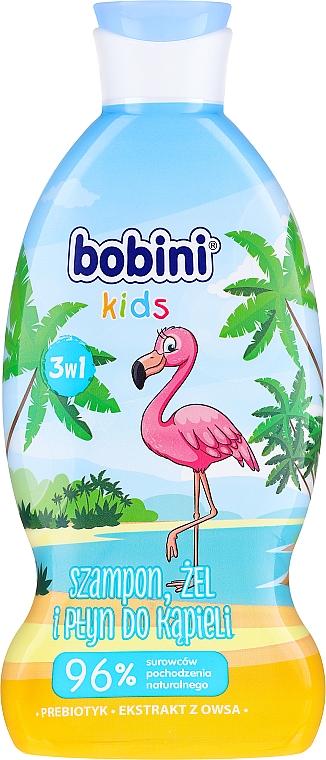 "Shampoo-gel e schiuma da bagno ""Lampone"" - Bobini"