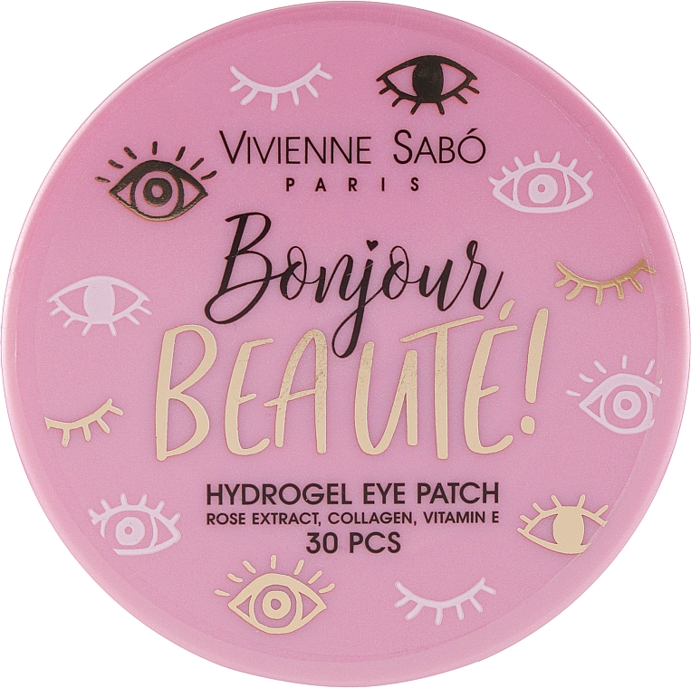 Patch occhi in idrogel - Vivienne Sabo Bonjour, Beaute! Hydrogel — foto N1