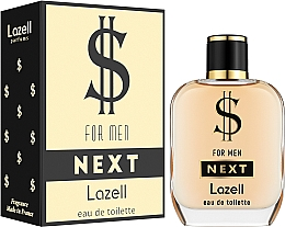 Profumi e cosmetici Lazell $ For Men Next - Eau de toilette