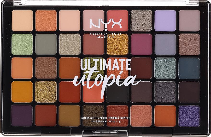 Palette di ombretti - NYX Ultimate Utopia Shadow Palette Summer 2020