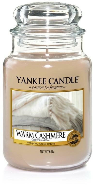 "Candela profumata ""Cashmere scuro"" - Yankee Candle Warm Cashmere"