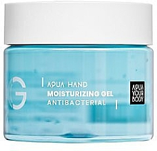 Profumi e cosmetici Gel antibatterico per le mani - Aquayo Aqua Hand Moisturizing Gel Antibacterial