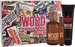 Profumi e cosmetici Dsquared2 Wood Pour Homme - Set (edt/100ml + edt/10ml + sh/gel/150ml)
