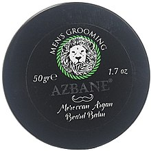 Profumi e cosmetici Balsamo da barba - Azbane Men's Grooming Moroccan Argan Beard Balm