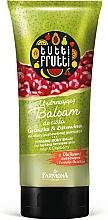 """Profumi e cosmetici Balsamo corpo """"Pera e Mirtillo Rosso"""" - Farmona Tutti Frutti Smoothing Body Balm Pear & Cranberry"""