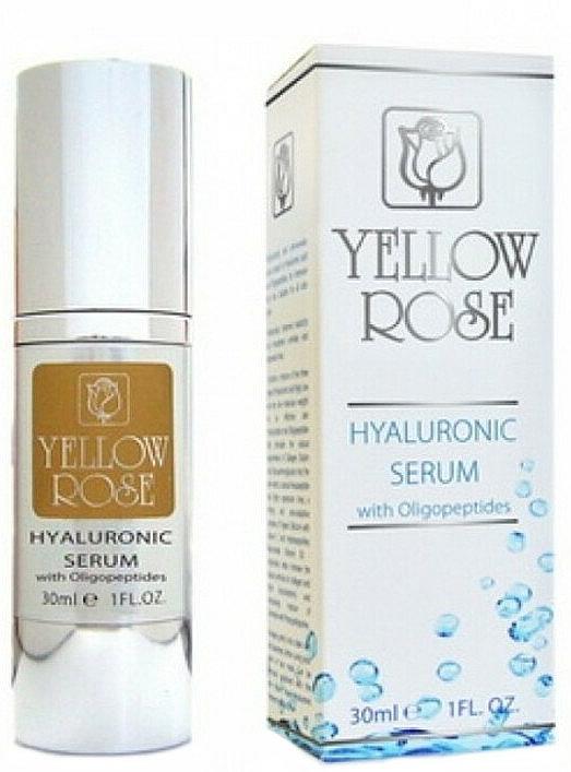 Siero all'acido ialuronico - Yellow Rose Hyaluronic Serum With Oligopeptides — foto N1