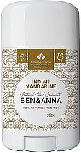 "Profumi e cosmetici Deodorante l bicarbonato ""Mandarino indiano"" - Ben & Anna Natural Soda Deodorant Indian Mandarine"