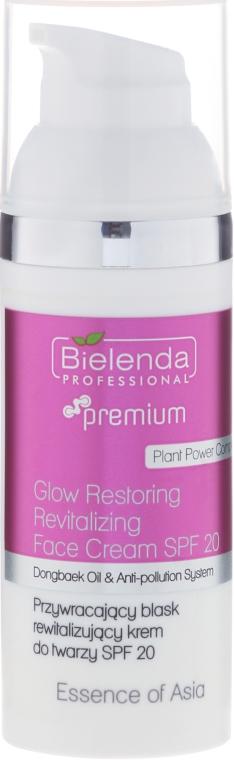 Crema viso rivitalizzante SPF 20 - Bielenda Professional Essence of Asia Cream SPF 20