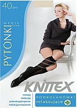 Profumi e cosmetici Gambaletti rilassanti da donna 40 Den, light beige - Knittex