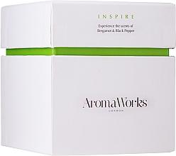 "Profumi e cosmetici Candela profumata ""Ispirazione"" - AromaWorks Inspire Candle"