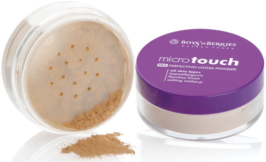 Cipria friabile - Boys'n Berries Loose Powder Micro Touch — foto N2