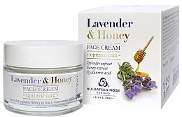 Profumi e cosmetici Crema viso - Bulgarian Rose Lavender & Honey Cream