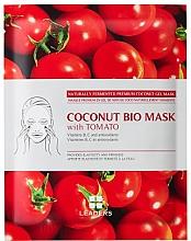 Profumi e cosmetici Maschera viso alla biocellulosa - Leaders Coconut Bio Tomato Mask