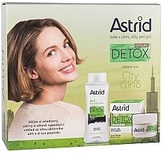 Profumi e cosmetici Set - Astrid Citylife Detox (cr/50ml + m/water/400ml)