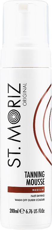 Mousse-autoabbronzante (medio) - St.Moriz Instant Self Tanning Mousse Medium
