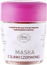 Profumi e cosmetici Maschera viso, con argilla rossa - Jadwiga Saipan Face Mask