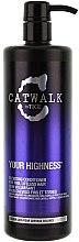 Profumi e cosmetici Condizionante capelli volumizzante - Tigi Catwalk Volume Collection Your Highness Nourishing Conditioner