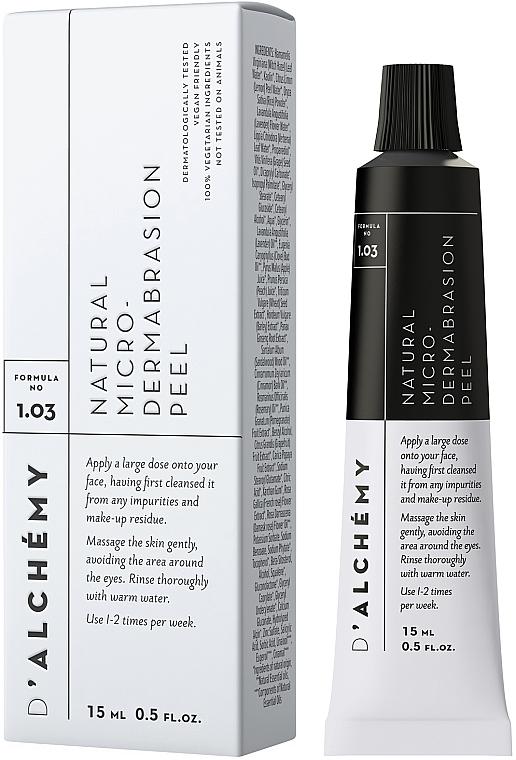 Peeling viso - D'Alchemy Natural Micro? Dermabrasion Peel