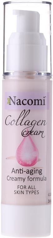 Crema viso - Nacomi Collagen Cream Anti-aging