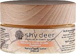 Profumi e cosmetici Olio corpo - Shy Deer Natural Body Butter