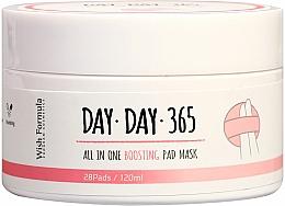 Profumi e cosmetici Spugne peeling detergenti con acidi - Wish Formula Day Day 365 All in One Boosting Pad Mask